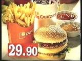 Carrols hampurilaisateria Retro TV-mainos