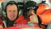 """Alpinisme: le sauveur d'Elisabeth Revol raconte un """"miracle"""""""