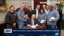 Acier et aluminium : le Japon, la Chine et l'UE condamnent la décision de Donald Trump