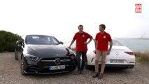 VÍDEO: Comparativa Mercedes CLS vs CLS AMG, ¿cuál es mejor?