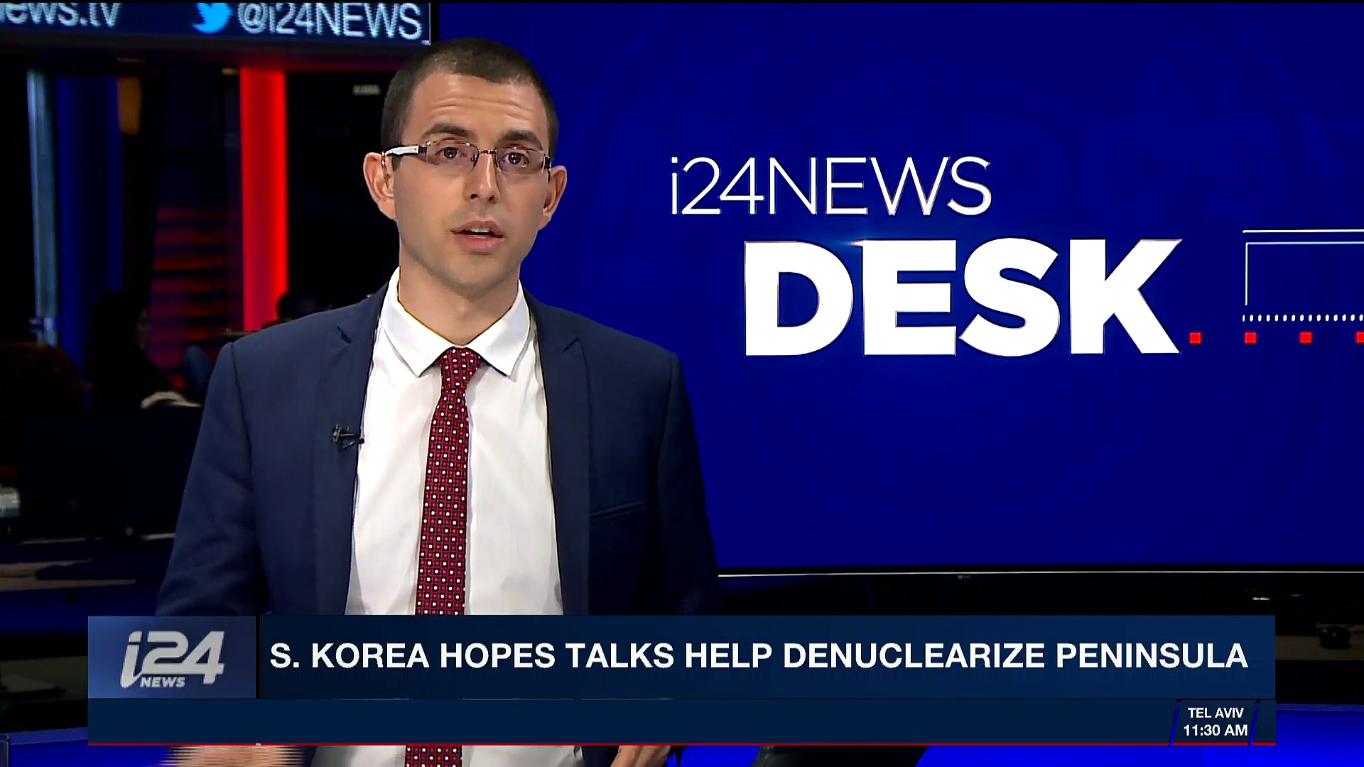 i24NEWS DESK | S. Korea hopes talks help denuclearize peninsula | Friday, March 9th 2018