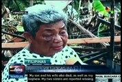 Typhoon Haiyan left Filipino fields unusuable