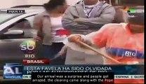 Pope Francis visits Brazilian favela in Rio