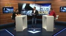 CLUB HOUSE - Arnaud Savigny et Antoine Barat en plateau