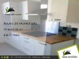 T4 63.00m2 A louer sur Bourg les valence - 638 Euros/mois