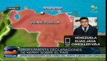 Elias Jaua laments John Kerry's interventionist statement