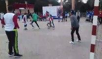 Match de foot de l'équipe Ourika Tadamoune lors du tournoi du 8 mars 2018