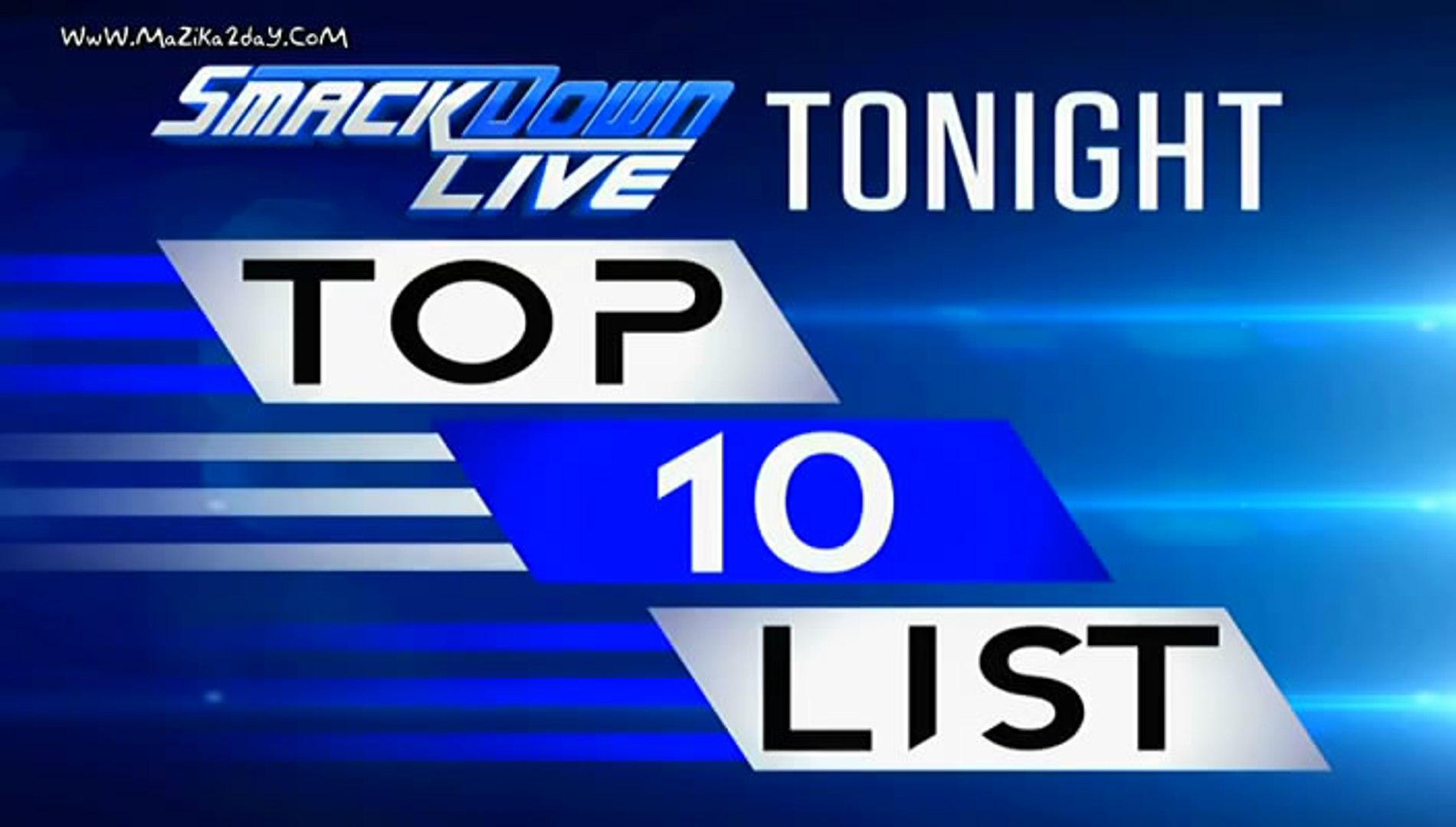 smackdown live top 10 superstar list wwe smackdown live february 06 2018