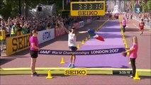 50km marche H (Diniz) - ChM 2017 athlétisme (résumé, podium, reportage et itw en plateau)