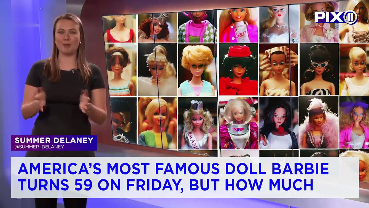 Barbie Turns 59: A Look Back at Her Evolution
