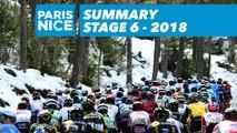 Summary - Stage 6 - Paris-Nice 2018