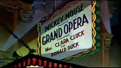 Mickey's Grand Opera - Mickey Mouse in Living Color (1936)