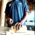 Sanduíche de pão com pão