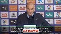 Zidane «Ronaldo est d'une autre galaxie» - Foot - ESP - Real