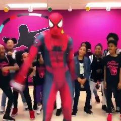 Spider-Man invites you to your dance class and smashes everything!