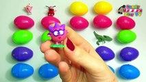 30 Sürpriz Yumurtalar I Bebek Oyuncaklarla Sürpriz Yumurtalar I Sürpriz Yumurtalarla Renkleri