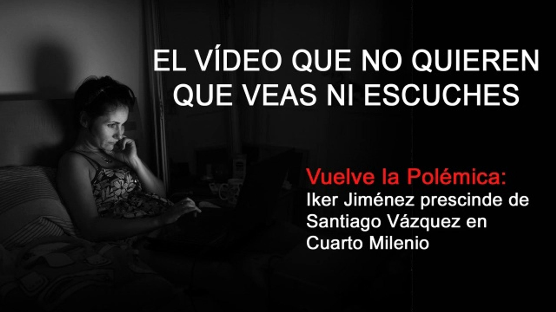 Iker Jiménez prescinde de Santiago Vázquez en Cuarto Milenio