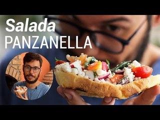 Salada Panzanella Receita Italiana - Web à Milanesa