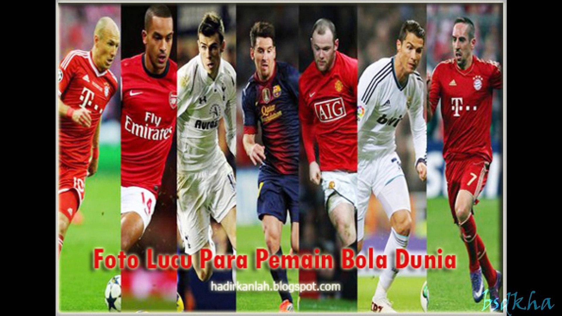 Foto Lucu Para Pemain Top Bola Dunia Video Dailymotion