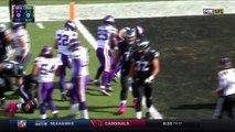 2016 - Andrew Sendejo picks off Carson Wentz, almost takes it to the house