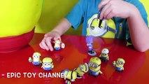 GIANT MINION Play-Doh Surprise Egg DESPICABLE ME Surprise Toys, Minion Candy & Minion Dave Toy