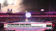PyeongChang Winter Paralympics kick off with grand opening ceremony