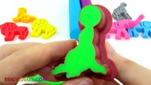 Learn Colors Play Doh Animal Xylophone Mary Little Lamb Finger Family Song Rhymes Five Little Ducks