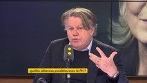 """Front national : """"Je n'ai pas de raison de ne pas adhérer au nouveau parti. (...) J'ai adhéré au Front national en septembre 2017 (...) pour dire 'merde' à Philippot"""", explique Gilbert Collard #8h30politique"""