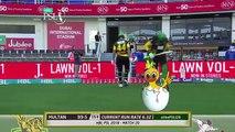 Multan Sultans Fall Of Wickets - Lahore Qalandars Vs Multan Sultans - Match 20 - 9 Mar -HBL PSL 2018