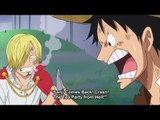 Sanji Cries and Said He Is Coming Back to the Straw Hats, Luffy Punches Sanji, One Piece 825