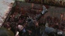 THE WALKING DEAD season 8 ep 10 : gore gore gore ! The scene
