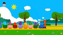 Apprendre les fruits en français - les couleurs - les chiffres - Dessin animé et comptines