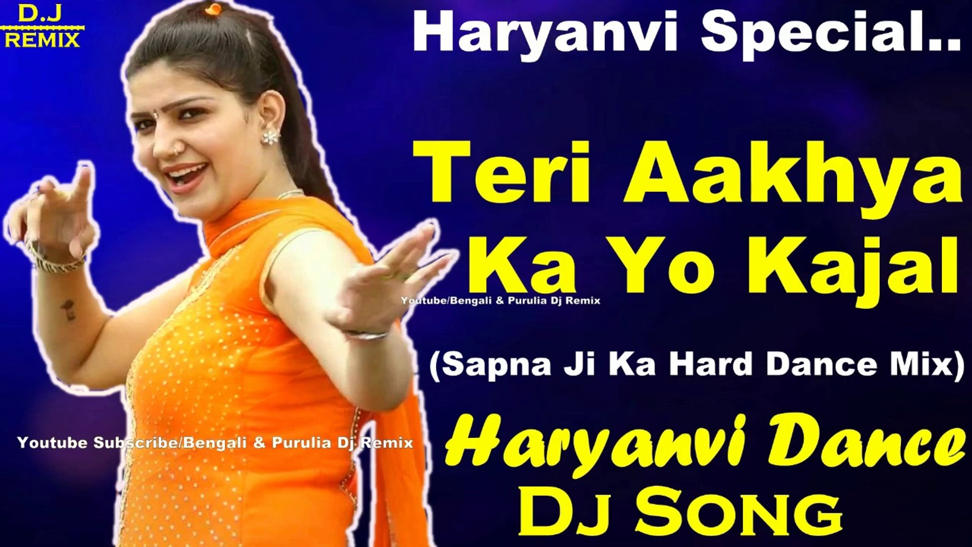 Teri Aankho Ka Yo Kajal (Hard Jumping Dance Mix) Dj Song || 2018 Haryanvi  Special Mix