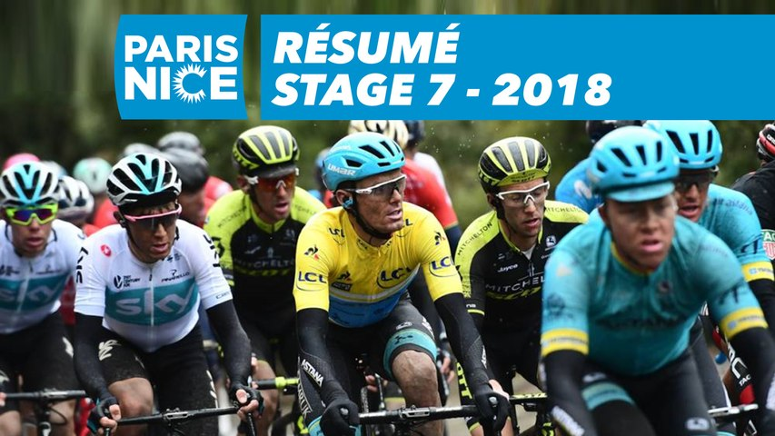 Résumé - Étape 7 - Paris-Nice 2018