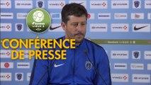 Conférence de presse Paris FC - FC Sochaux-Montbéliard (2-0) : Fabien MERCADAL (PFC) - Peter ZEIDLER (FCSM) - 2017/2018