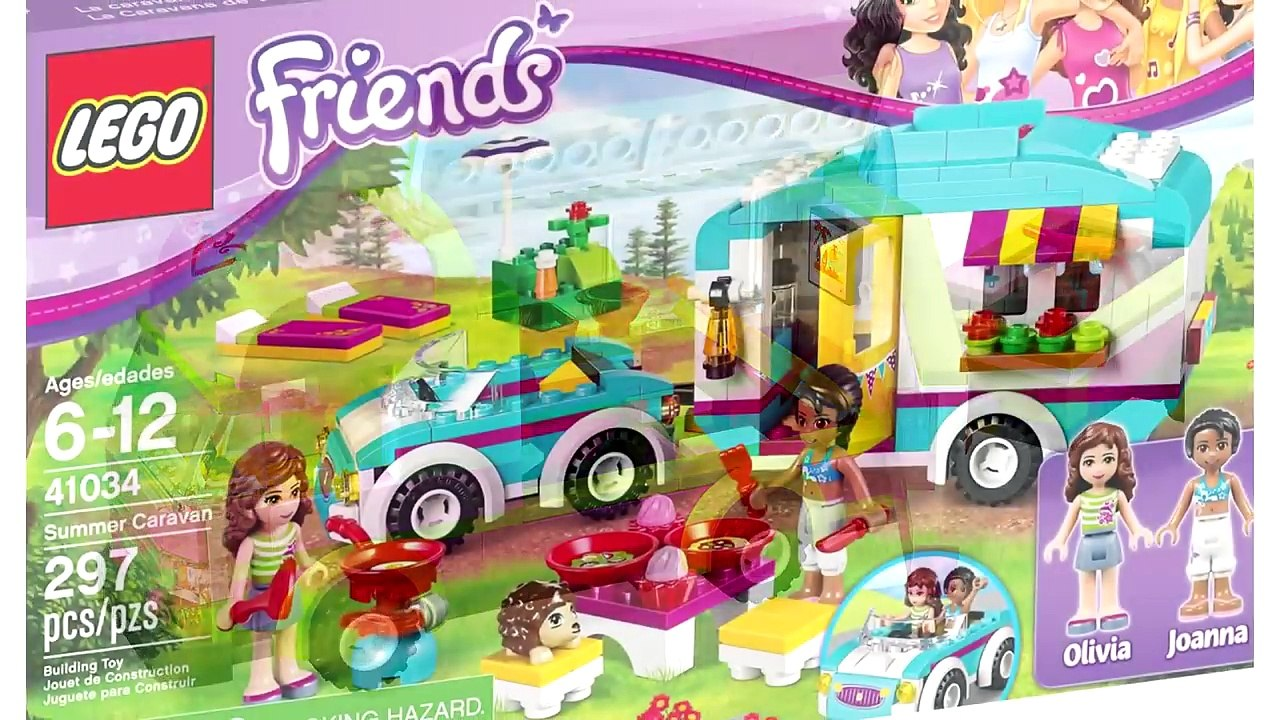 trailer Friends van Lego car scooter all Bus Every Kids Toys limousine dCtQshrxB