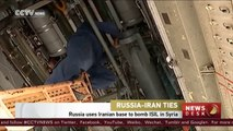 Russia uses Iranian base to bomb ISIL in Syria