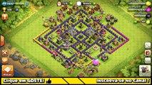 Clash of Clans - Detonando os Goblins #14 - MEGAMANSÃO ( Th7 Megamansion )
