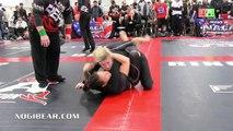 Girls Grappling:  DOUBLE FEATURE #13 •No-Gi / Gi  • Women Wrestling BJJ MMA Brazilian Jiu-Jitsu