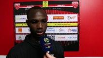 Après le match, Moussa Konaté, DFCO - Amiens SC
