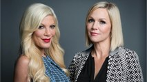 Tori Spelling Goes Back to Work With Jennie Garth