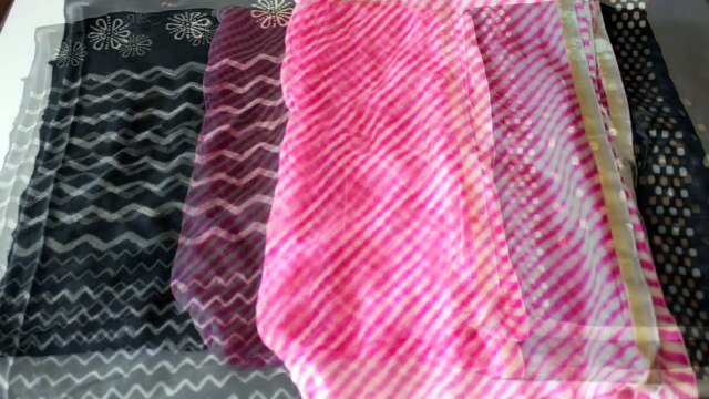 3 Ways To Convert And Re-Use Your Old Dupattas/Scarves