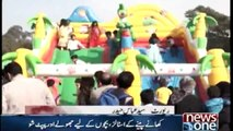 Family festival in lahore race course Park