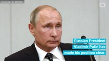 Russian President Vladimir Putin Does Not Care If Russians Meddled With The US Elections