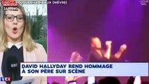 Johnny Hallyday : David Hallyday lui rend hommage lors de son concert (vidéo)