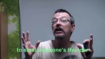 Learn English: Daily Easy English Expression 0043 -- 3 Minute English Lesson: Steal my thunder