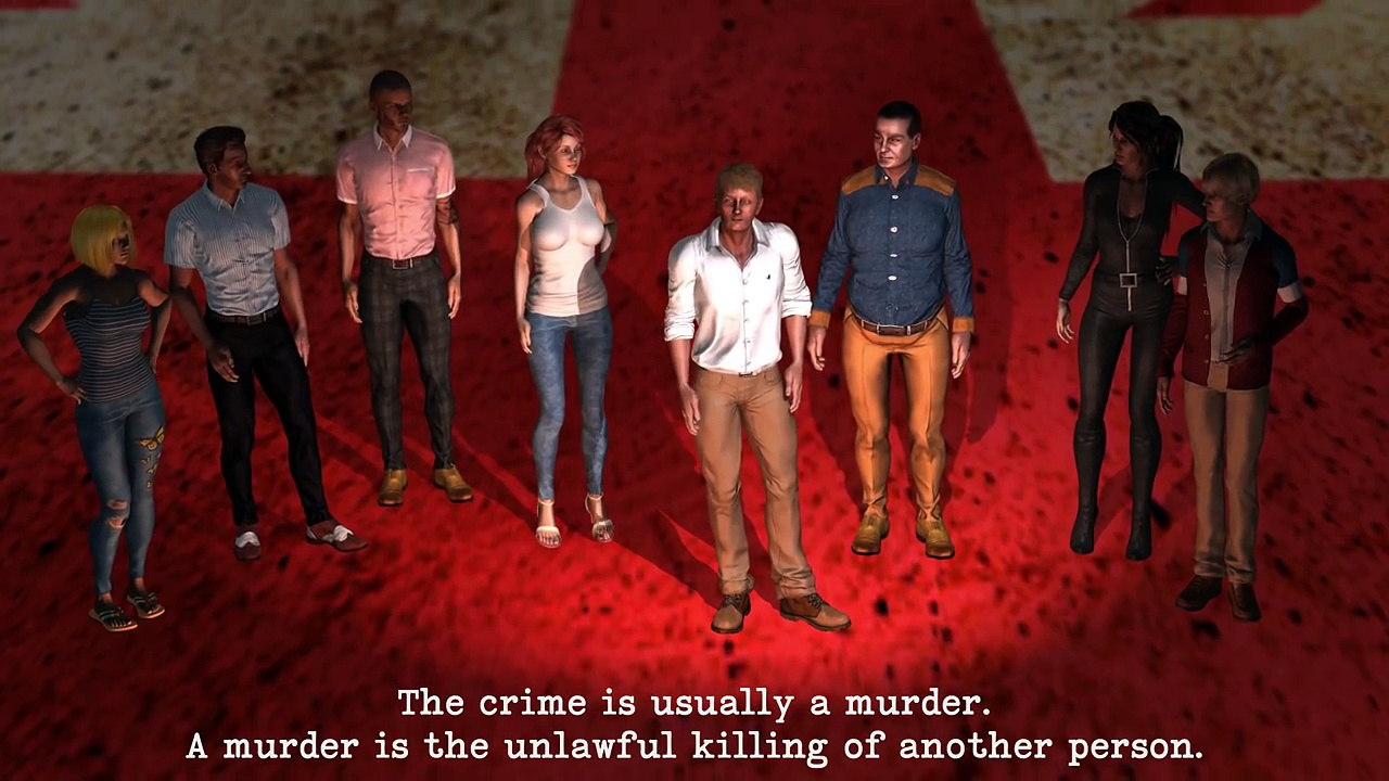 Learn English with a Murder Mystery