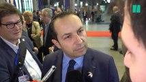 """Congrès du Front national: Sébastien Chenu s'énerve devant la presse et qualifie la polémique de """"traquenard à deux balles"""""""