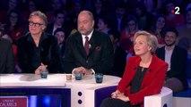 """ONPC : Eric Dupond-Moretti tacle Christine Angot et la """"violence"""" de ses propos"""