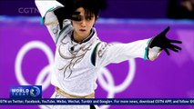 Japan's Yuzuru Hanyu wins gold in men's singles figure skating